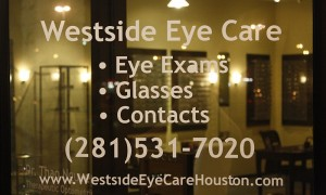 Westside Eye Care Houston optometrist houston